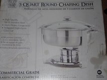 Commercial Stainless Steel 5 Quart Chafing Dish ~ NEW in Conroe, Texas