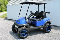 2013 BLUE... CUSTOM GOLF CART... CLUB CAR PRECEDENT.. NEW 2017 BUILD in Watertown, New York
