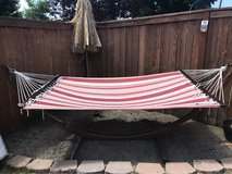 Hammock in Fort Lewis, Washington