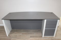 Gray Desk in Houston, Texas