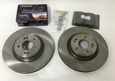 Power Stop Brakes JBR1529 Front Rotors & Pads Set for Hyundai Genesis Coupe 2010 - 2015 in Joliet, Illinois