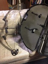 Compound bow and hard case in Joliet, Illinois