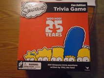 New Simpsons Fan Edition Trivia Game in Tinley Park, Illinois