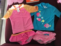 18 month rush gauards, swimsuits in Okinawa, Japan