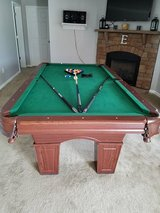 7' MD Sports Pool Table With Accessories in Watertown, New York