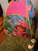 dora tent for a chid in Barstow, California