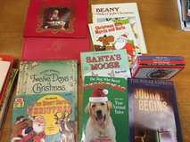 Christmas book lot in Okinawa, Japan