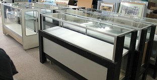 GLASS DISPLAY CASES FOR SALE! in Okinawa, Japan