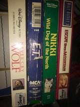 2 dol each vintage vhs in Barstow, California