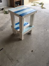 Beach End Table/Stool - Father/Son Project in Okinawa, Japan
