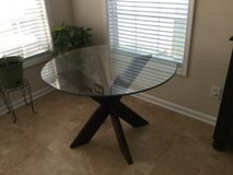 Glass top table in Clarksville, Tennessee