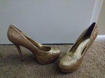 Gold heels in Tampa, Florida