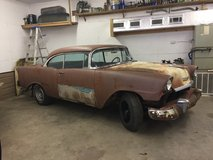 1956 Chevrolet 2dr hard top in Fort Polk, Louisiana