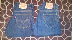 Levis Blue Jeans (2 pair for 1 price) in Warner Robins, Georgia