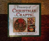 TREASURY OF CHRISTMAS CRAFTS AND OTHER HOLIDAY CRAFTS - Hardcover – 1994 in Lawton, Oklahoma