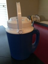Rubbermaid cooler (blue) in Houston, Texas