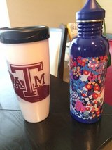 ATM and Vera Bradley thermos in Houston, Texas