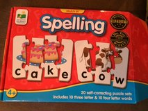 Spelling Puzzle in Spring, Texas