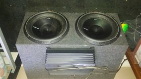 12x3 speaker with 1000w amp in Lake Charles, Louisiana
