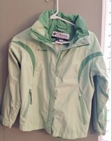 Columbia Youth Jacket with hood in Naperville, Illinois