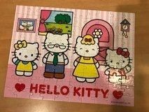hello Kitty puzzle 100 med.size in Bolingbrook, Illinois