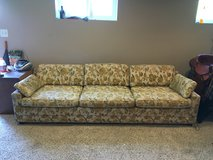8 foot couch - Available now! in Fort Lewis, Washington