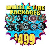 WHEELS & TIRE  PKG in Miramar, California