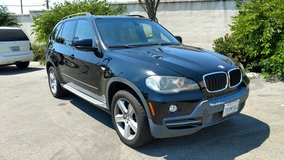 2007 BMW X5 loaded in Camp Pendleton, California