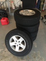 Jeep Wrangler JK Wheels and Tires - Set of Five in Aurora, Illinois