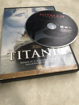 Titanic and Hitman Unrated Dvd's in Okinawa, Japan