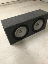 "JL Audio 12"" Subs with Box in Baytown, Texas"