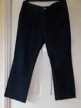 "Jeans / Trousers size 16 by Chaps Black 29"" inside leg in Cambridge, UK"