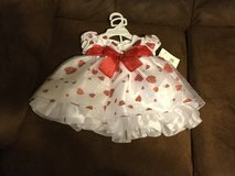 Party dress with red hearts ?????????? in Baytown, Texas