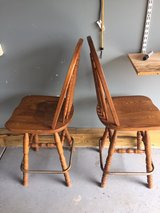 Counter Heigh Wood Swivel Chairs in Aurora, Illinois