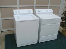 Washer and Dryer Whirlpool Set Large tub-Super Reliable And Guaranteed in Warner Robins, Georgia