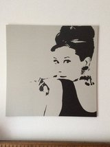 "Pop art Audrey Hepburn ""Breakfast at Tiffany's"" in Baumholder, GE"