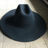 Resistol Black Riding Hat in Indianapolis, Indiana