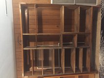 Wood Shelving Unit in Bartlett, Illinois