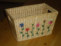 basket w/flowers in St. Charles, Illinois