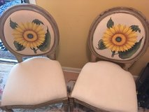 Sunflower chairs (pair) in Beaufort, South Carolina