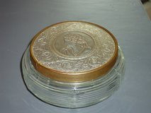 vintage glass powder box in Naperville, Illinois
