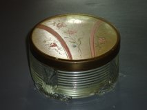 vintage art deco powder box 3.5 x 2H in Aurora, Illinois