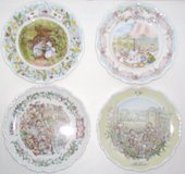 Royal Daulton Plates in Camp Lejeune, North Carolina