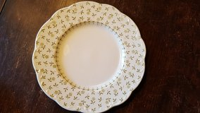 Floral plate-english Staffordshire sterling in Chicago, Illinois
