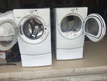 Whirlpool Front Load Washer and Gas Dryer in Conroe, Texas