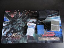 Yugioh Shonen Jump Anniversary Play-mat W/ 80 Card Sleeves & 2 Deck Boxes in Oceanside, California