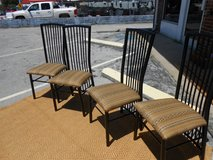4 Metal Chairs in Cherry Point, North Carolina