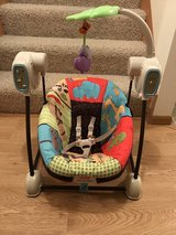 Fisher Price Swing & Seat in Brookfield, Wisconsin