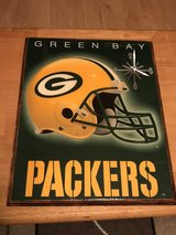 Green Bay Packers wall clock in Brookfield, Wisconsin