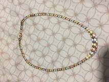 14k three colors necklace in Okinawa, Japan